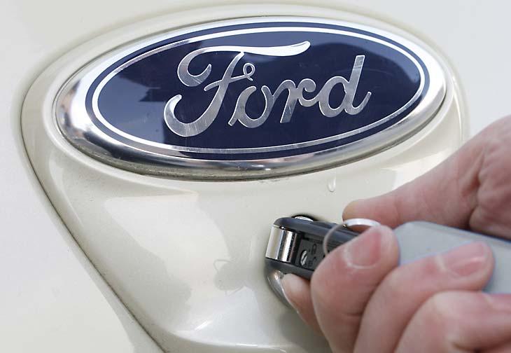 El Ford Ka Titanium por fuera
