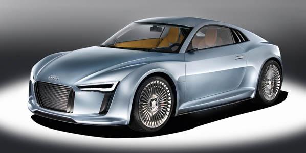 Detroit-Showcar Audi e-tron