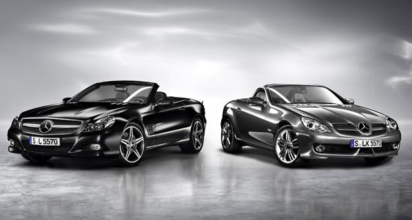 Mercedes-Benz SL Night Edition y SLK Grand Edition