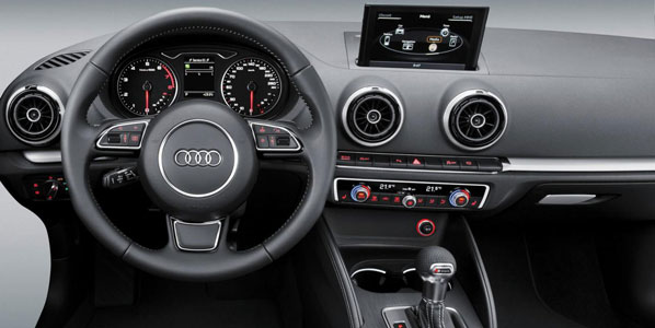 Audi A3, primeras imágenes de su interior