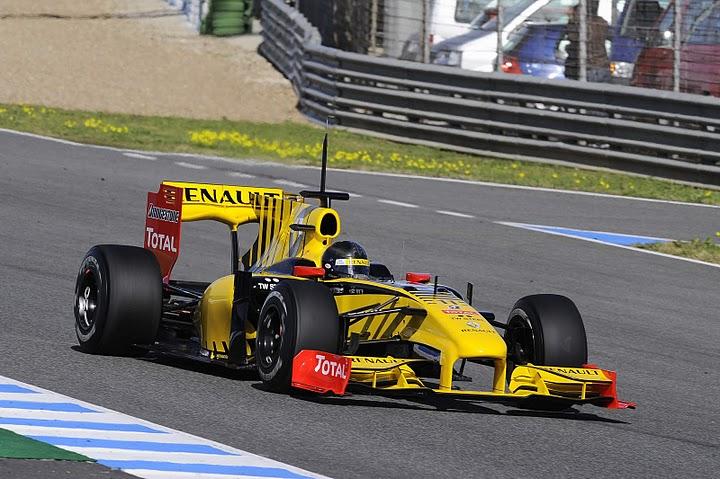 Segunda jornada de entrenamientos de F1 en Jerez.
