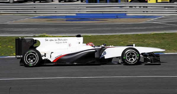 Alonso acaba sus pruebas en Jerez