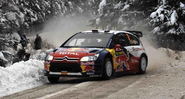 Sigue con nosotros el Rally de Suecia
