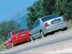 Rover 45 2.0 V6 Club / MG ZS 180