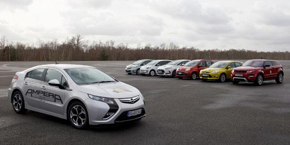 La votación española en el Car of The Year 2012