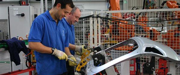 Industria: menos EREs en 2010
