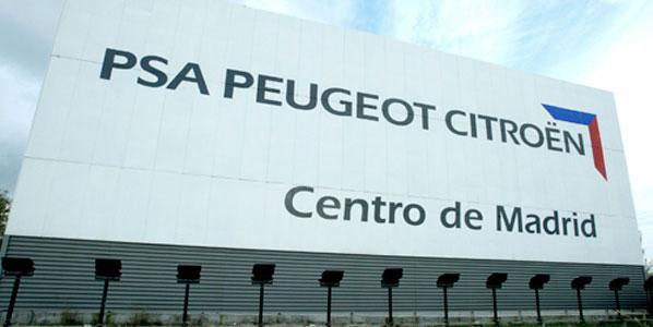 La planta de PSA en Madrid, en peligro