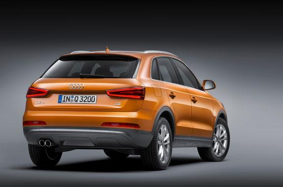 Audi Q3 definitivo