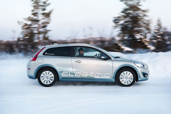 Volvo C30 eléctrico el contacto
