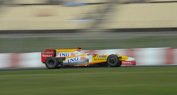 F1: Alonso en el GP de España