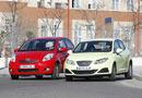 Seat Ibiza 1.4 TDI Ecomotive 5p frente a Toyota Yaris 1.0 VVT-i  5p