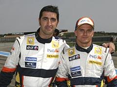 Cerca de las estrellas: Renault F1 y Citroën C4 WRC