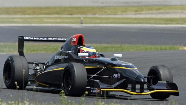 F-Renault: Ya en pista