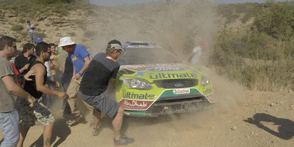 WRC: Sordo, a 3 segundos de Hirvonen en Grecia