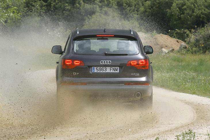 Audi Q7 4.2 TDI, en la pista