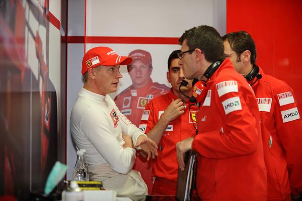 Buen día para Räikkönen