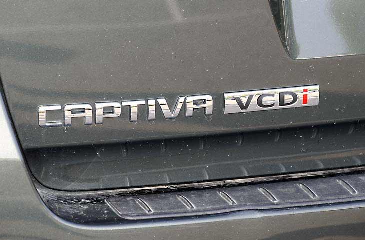 Chevrolet Captiva: a imagen y semejanza