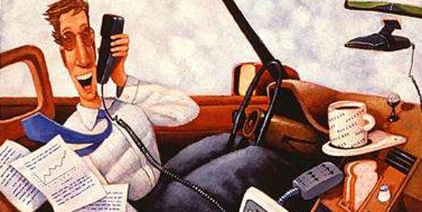 No apagamos el móvil mientras conducimos
