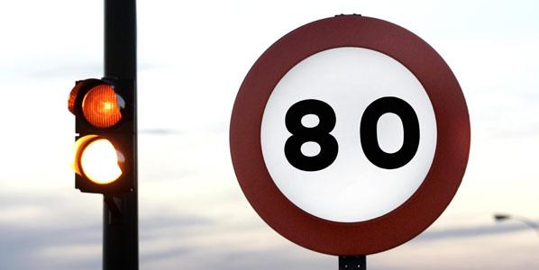 ICV quiere extender la limitación a 80 km/h