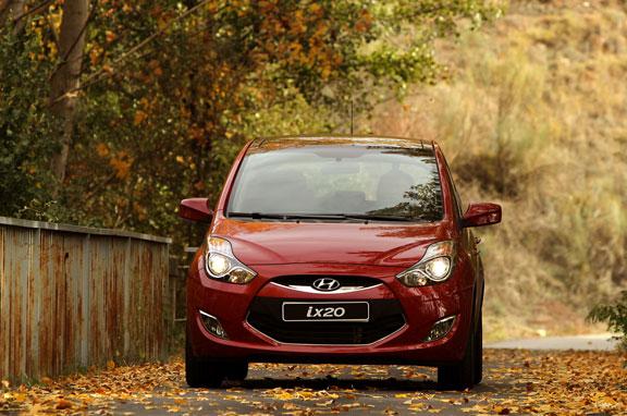 Al volante del Hyundai iX20