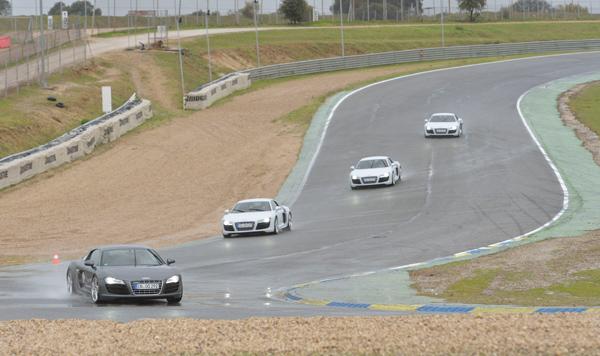Audi y el Real Madrid en el Jarama