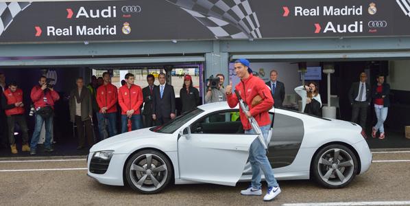 ¿Qué Audi conduce cada jugador del Real Madrid?