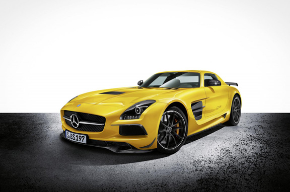Mercedes SLS AMG Coupé Black Series