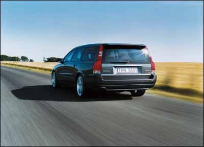 Volvo S60 R  y V70 2002