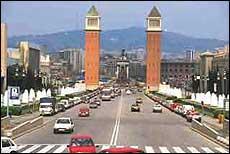El tráfico, principal problema urbano de Barcelona