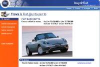 Fiat lanza un sistema de compras online