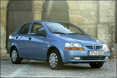 El Daewoo Kalos, un coche cinco estrellas
