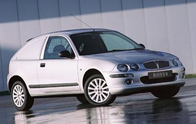 MG Express y Rover CDV