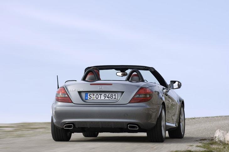 Mercedes SLK: primeras impresiones
