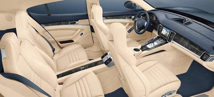 Porsche Panamera: detalles del interior