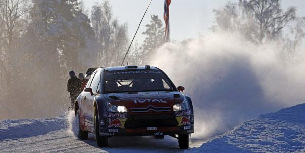 Loeb abrirá la ruta en la segunda etapa