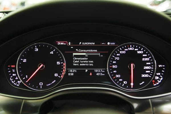Audi A6 Avant la prueba