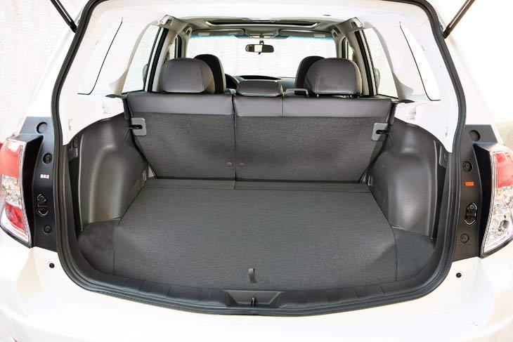 Subaru Forester: detalles
