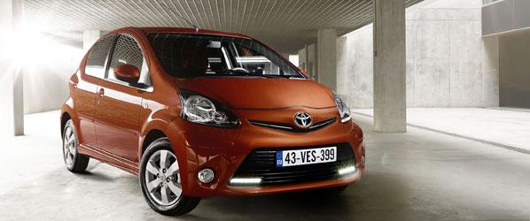 Toyota Aygo 2012, desde 7.200 euros
