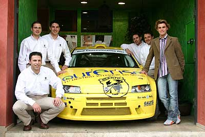 Fonsi Nieto, padrino del equipo Fiat.