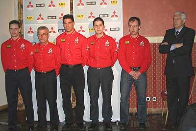Zanini es el mentor del equipo Mitsubishi-RACC.