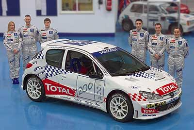 Peugeot cuenta con tres representantes oficiales.