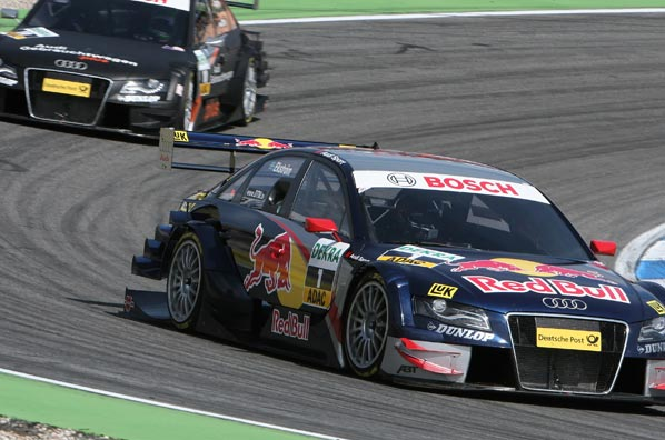 DTM: tres Audi en Hockenheim