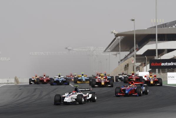 GP2 Asia: Grosjean y Bonanomi