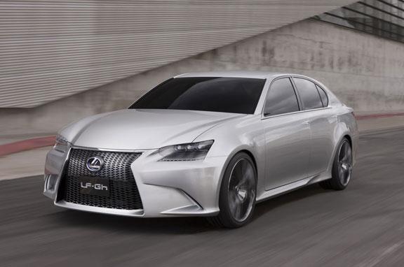 Lexus LF-Gh, espectáculo híbrido