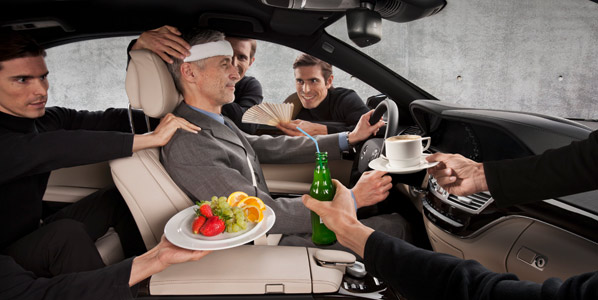 Active Comfort: Mercedes-Benz te quita el estrés