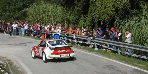 Los colores Gulf en el Rallye de España