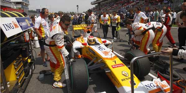 Renault también se irá de la F1