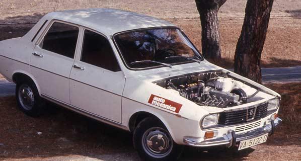 Renault R12 y Seat 124, enfrentados