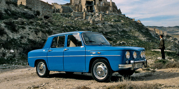 Renault R-8 TS, el coche de 1968