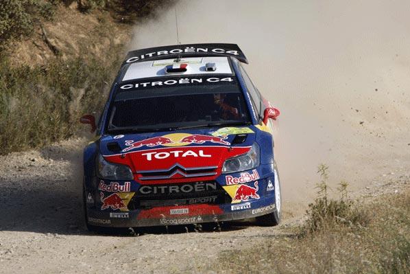 WRC Turquía: Loeb golpea primero